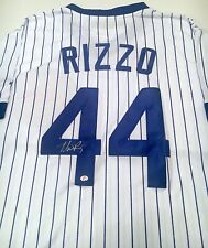 Anthony Rizzo Autographed Signed Majestic Cool Base Jersey with COA Chicago Cubs