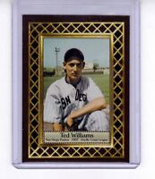 Ted Williams '37 San Diego Padres minor league, Fan Club serial numbered /300