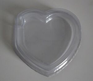 100 x Heart Shaped Hard Tag Protectors for Beanie Babie / Baby NEW Freepost