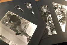 ZACK CARTER * 5 Skateboard Photos * 7-1/2 x 9-1/2 Matted w/ Notes Extreme Sports