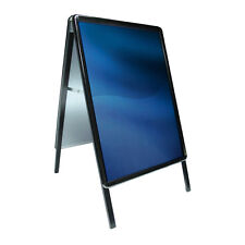 NEW BLACK A2 A-BOARD PAVEMENT SIGN POSTER SNAP FRAME SIGN DISPLAY STANDS