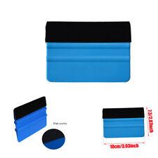 For 3M Pro Felt Edge Vinyl Car Van Bike Blue Wrap Wrapping Squeegee Tool Scraper