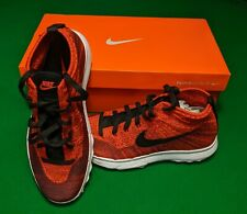 Nike Flyknit Chukka Golf Shoes - UK Size 8 - Red - Brand New In Box
