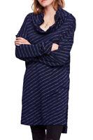 Free People Damen Muss Ich Haben OB833185 Kleid Entspannt Marineblau Größe XS