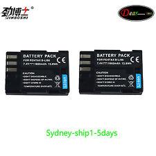 2 XD-li90 D-l190 Battery for Pentax 645D K-3 K-5 K5 IIs II K-7 K7 K3 K5 645 645Z
