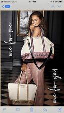 New Victoria's Secret Limited Edition Sparkle Tote and Weekender Bag Set