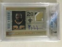 Ltd. Ed. Mint 2011 War Room Materials Mint Mark Ingram/25 Auto Prime #33