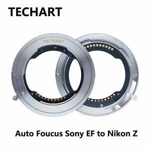 TECHART TZE-01 Auto-Focus for Sony FE Mount Lens Adapter To Nikon Z6 Z7 Camera