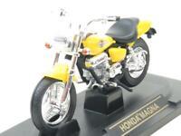 Road Signature Diecast Honda Magna Yellow 1 18 Scale Boxed