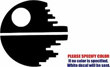Vinyl Decal Sticker - Star Wars Death Star Cool Car Truck Bumper JDM Fun 9""