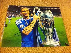 Frank Lampard Autographed 11x14 Photo CHELSEA ENGLAND NYCFC MAN CITY PROOF