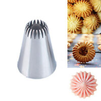 #195 Tips Ice Cream Tool Icing Piping Nozzles Cake Decorating Baking Mold