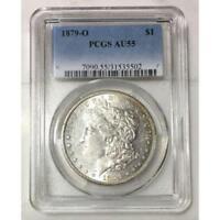 1879 O Morgan Dollar PCGS AU55 #550285