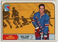 1968-69 Topps #77 Jean Ratelle EX - SET BREAK (112219-21)