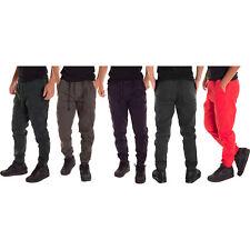 Alta Fashion Men's Casual Jogger Pants with Expandable Waist - Multiple Colors