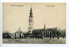 Polska Poland Częstochowa Jasna Góra, people, ludzie, early