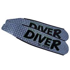 DiveR Innegra Grey Carbon Fiber Long Fin Blades