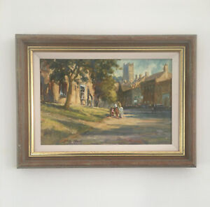 CHIPPING CAMPDEN. Original signed oil painting by John Neale