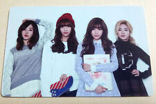 SNSD Girls' Generation 2015 Greetings Calendar [OFFICIAL] Photo Card - Group A