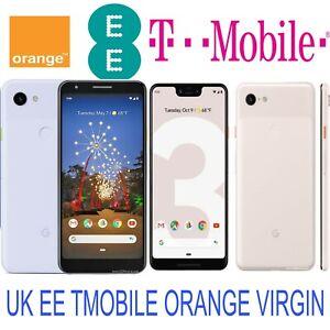 Google Pixel 3 XL 3a 3a XL 2XL Pixel 3 Pixel 2 UK EE TMOBILE ORANGE UNLOCK CODE
