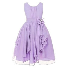 KIDS Pageant Birthday Flower GIRL Dress Wedding Bridesmaid Gown Formal Dresses #