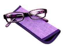 Foster Grant Women's Rectangular Reading Glasses - Aurora (Blue/Black)