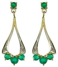 Yellow Gold Gemstone Fine Earrings