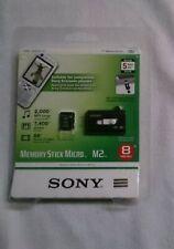 Sony Memory Stick Micro M2 8 GB Ovp