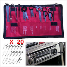 Universal Stainless steel 20 Pcs Pro Car Radio Stereo CD Player Removal Key Tool