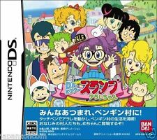 Used DS Bandai Dr. Slump and Arale-Chan NINTENDO JAPANESE IMPORT