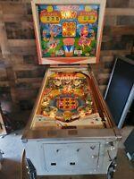 Bally BONGO 2 Player Pinball Machine, Atlanta (#504) (Working)