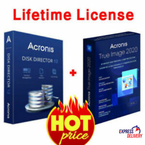 Acronis Disk Director 12 & Acronis True Image(2019) | Lifetime License Key