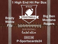 2018 Hit Parade Limited Football NFL Auto Hobby Box Live Box Break #893 -1 Team