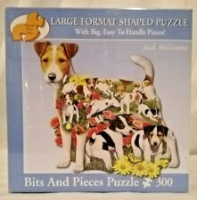 Bits And Pieces 48519 Romping Russells 300 pc shaped jigsaw puzzle Jack Williams
