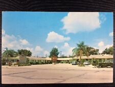 AAA Town Motel on US 1 in Titusville, Florida  Brevard Chrome Postcard Unused