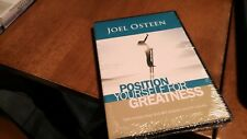JOEL OSTEEN POSITION YOURSELF FOR GREATNESS BRAND NEW CD