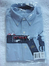 Ralph Lauren US Open 2014 Tennis Men's Classic Oxford Dress Shirt Large Pony XS
