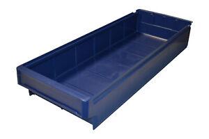 Regalbox Lagerbox Box Dunkelblau 600X230X100mm Arca Systems 9133 stapelbar Lager