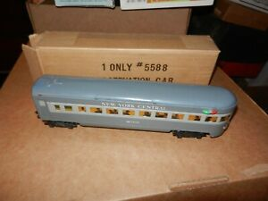 MARX New York Central Meteor Observation Car, OB, Original