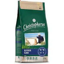 Christopherus älterer Hund, Geflügel, Lamm, Ei Reis 12kg, zzgl. Rinderohr gratis