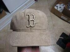 BOSTON RED SOX (NEW ERA 9FIFTY) SNAPBACK HAT (ADJUSTABLE) NWT $28 BEIGE RARE!