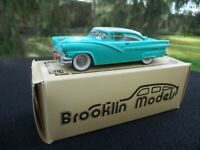 BROOKLIN MODELS 23 FORD F   MINT IN BOX AIRLANE 2 DOOR VICTORIA 1956