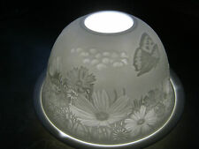 MAGIC LIGHT TEELICHT DOME LIGHTS  STARLIGHT WINDLICHT SOMMERWIESE, BLUMEN 32004