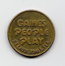 Tokens - Games People Play Ft. Lauderdale FL Token ; Lot-P2