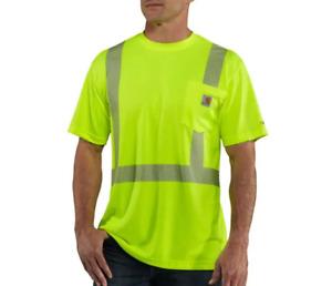CARHARTT FORCE® HIGH-VISIBILITY SHORT-SLEEVE CLASS 2 T-SHIRT - Medium