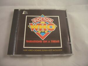 Doctor Who Variations on a Theme Mark Ayres, Dominic Glynn & Keith McCulloch CD