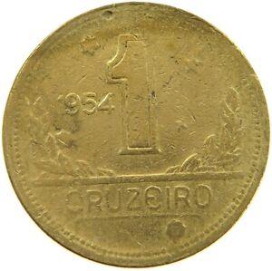 BRAZIL 1 CRUZEIRO 1954 #s54 103