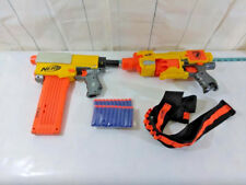 Lot 2 Nerf Guns Recon CS-6 With Extras and Darts TESTED