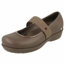Zapatos planos de mujer marrones de sintético, Talla 41