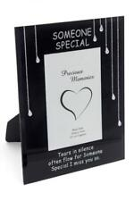 Someone Special teardrop memorial remembrance glass frame DF17691P